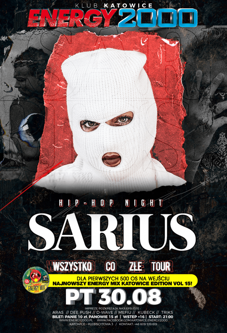 SARIUS ☆ Hip-Hop Night