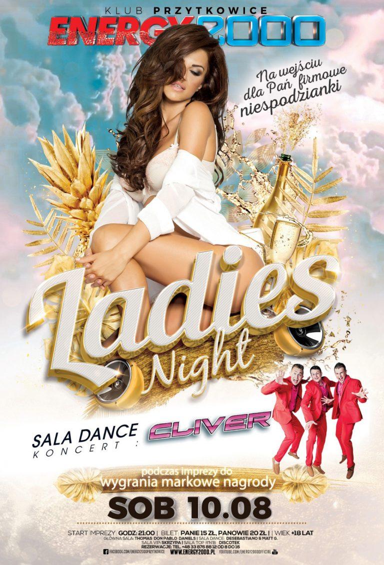 LADIES NIGHT ★ CLIVER – sala dance!