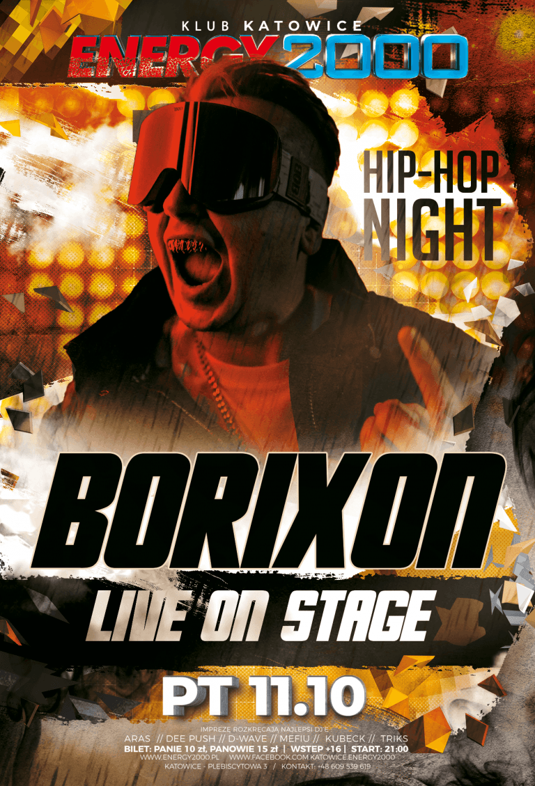 BORIXON ★ Hip-Hop Night