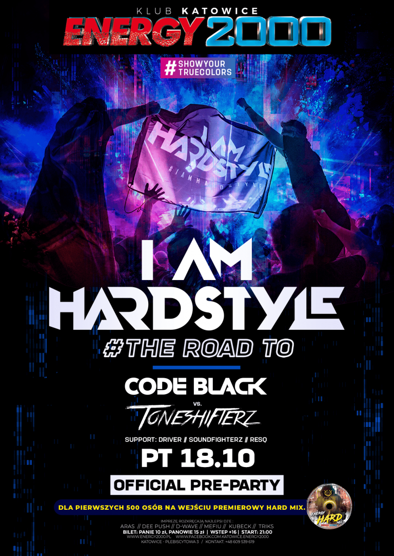 THE ROAD TO I AM HARDSTYLE ★ CODE BLACK/ TONESHIFTERZ