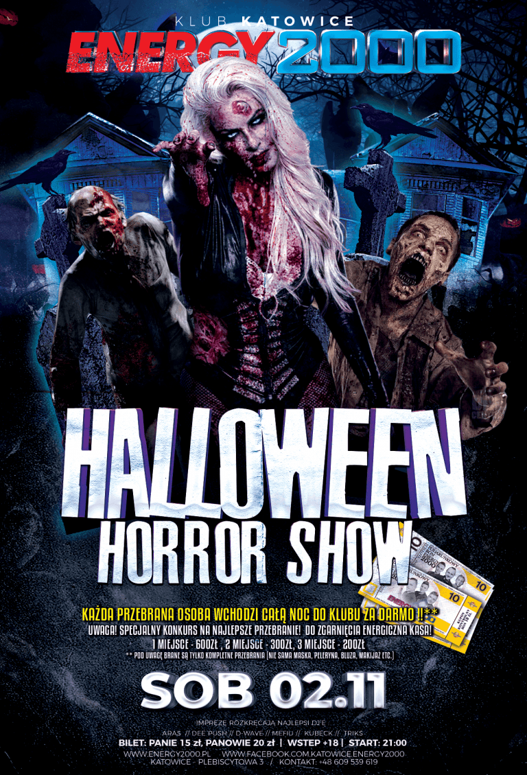 HALLOWEEN NIGHT ★ HORROR SHOW