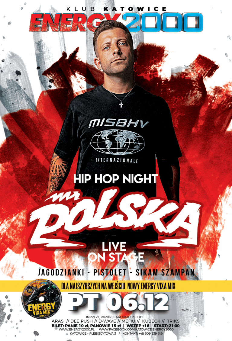 MR. POLSKA ★ Live on stage!