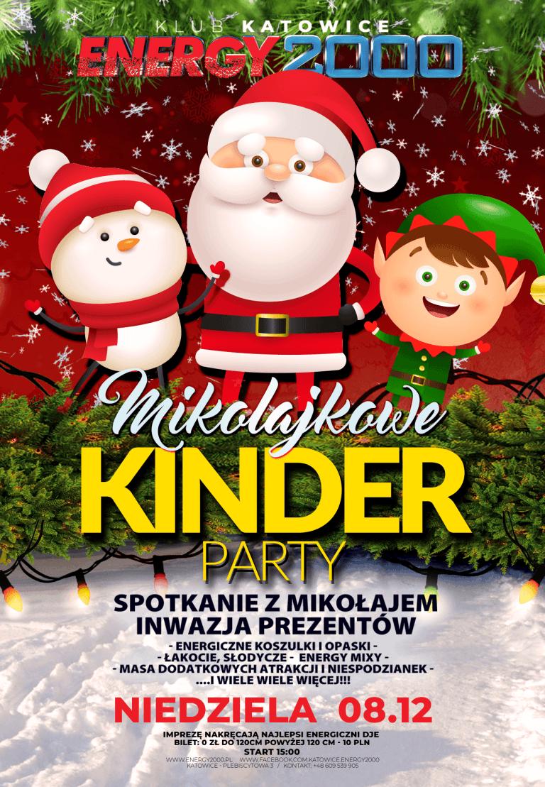 Mikołajkowe Kinder PARTY ★ Niedziela 08.12