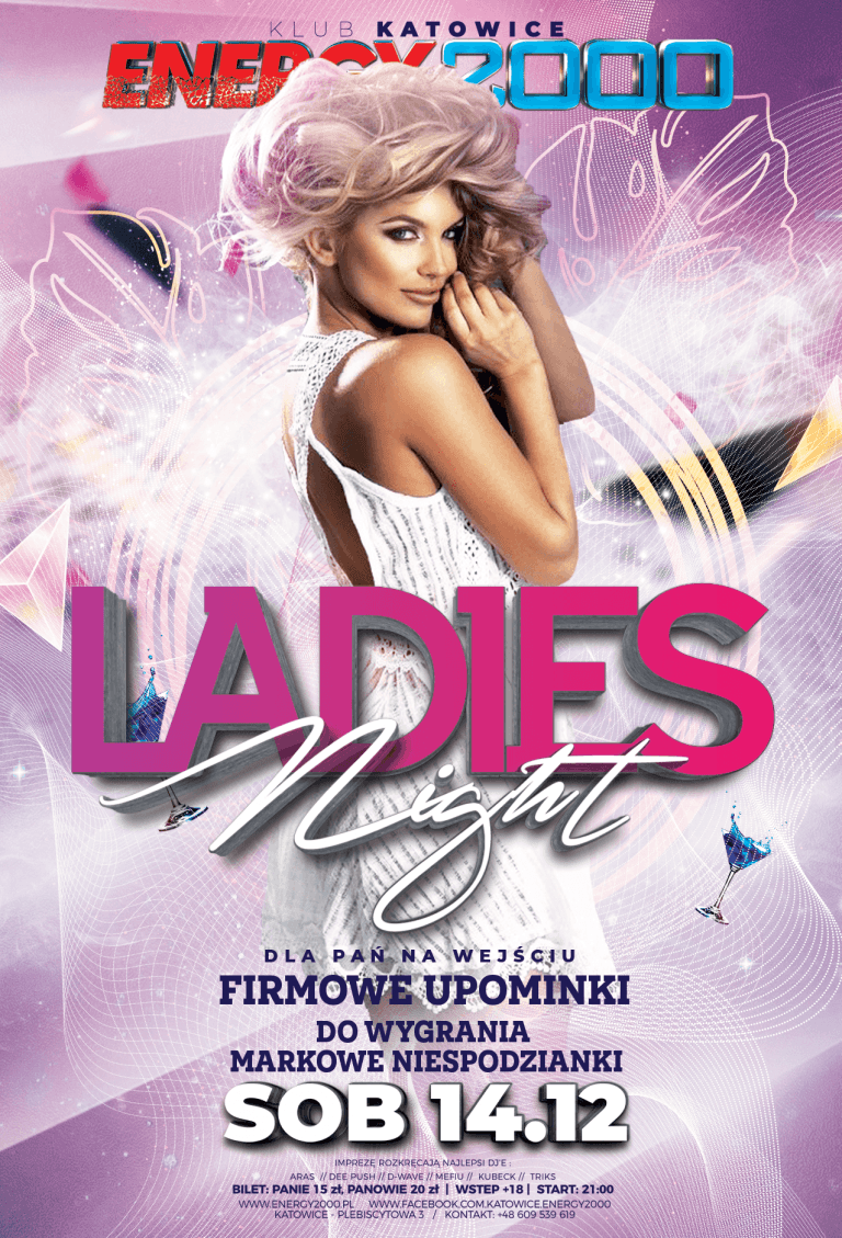 LADIES NIGHT ★ Markowe nagrody!