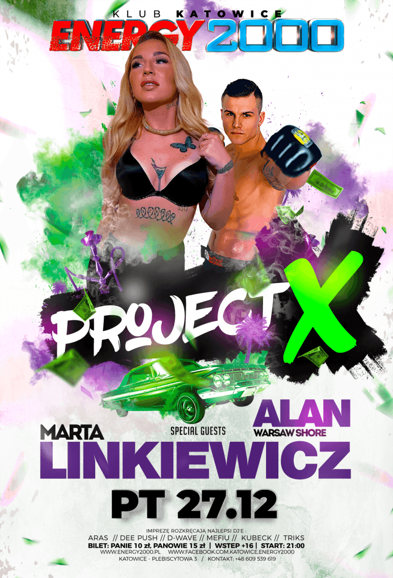 PROJECT X ☆ MARTA LINKIEWICZ/ ALAN WS