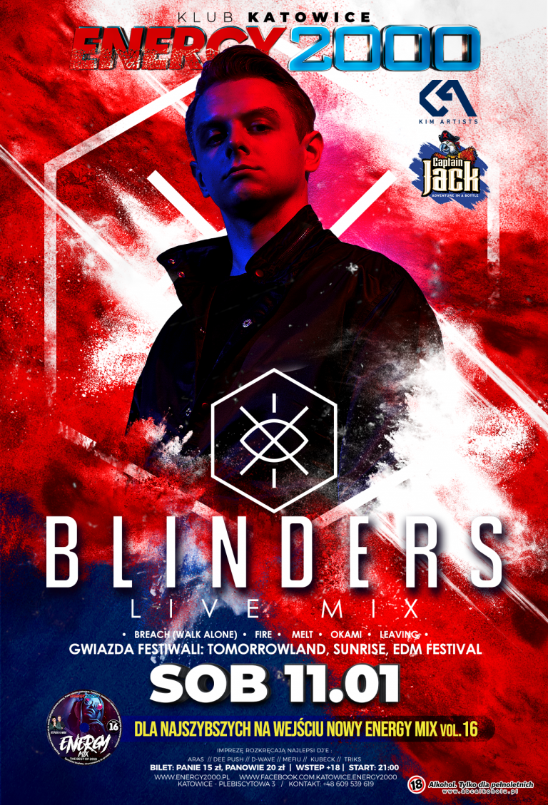 Blinders ★ Edm Night ★ Captain Jack