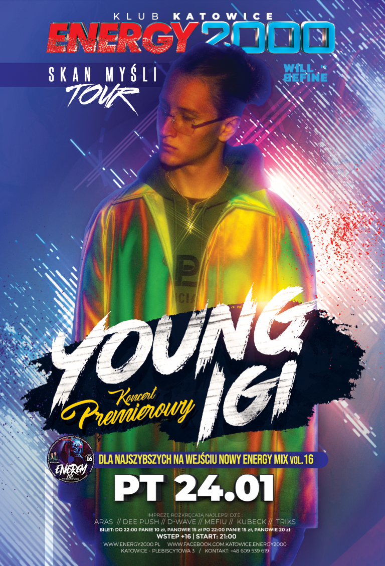 YOUNG IGI ★ SKAN MYŚLI TOUR ★ Hip-Hop Night