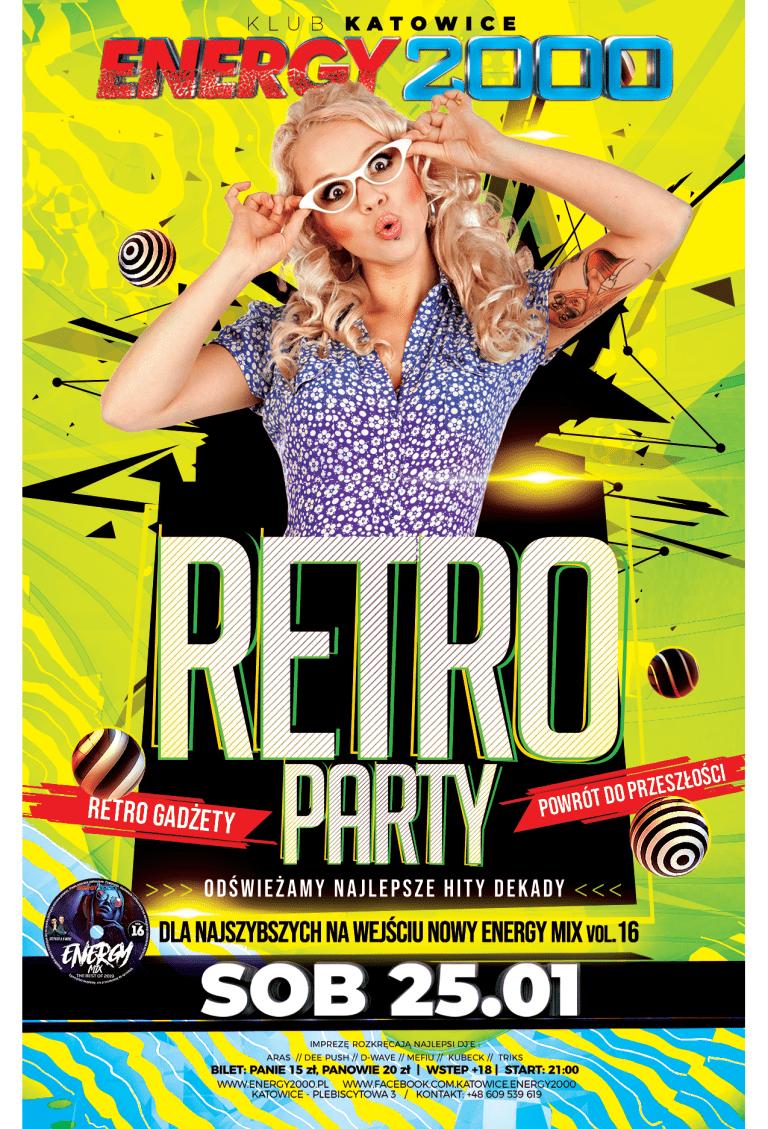 RETRO PARTY ★ Najlepsze hity dekady!