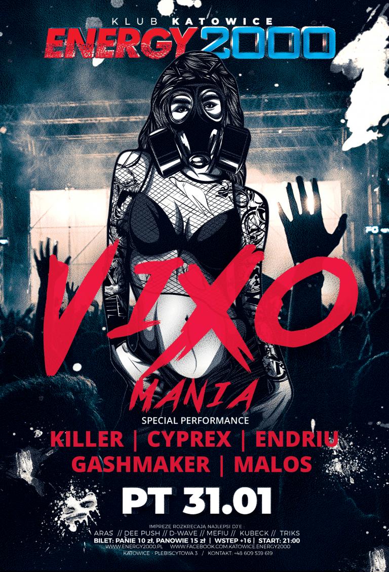 Vixomania VOL.3 ★ Killer/ Cyprex/ Gashmaker/ Endriu/ Malos