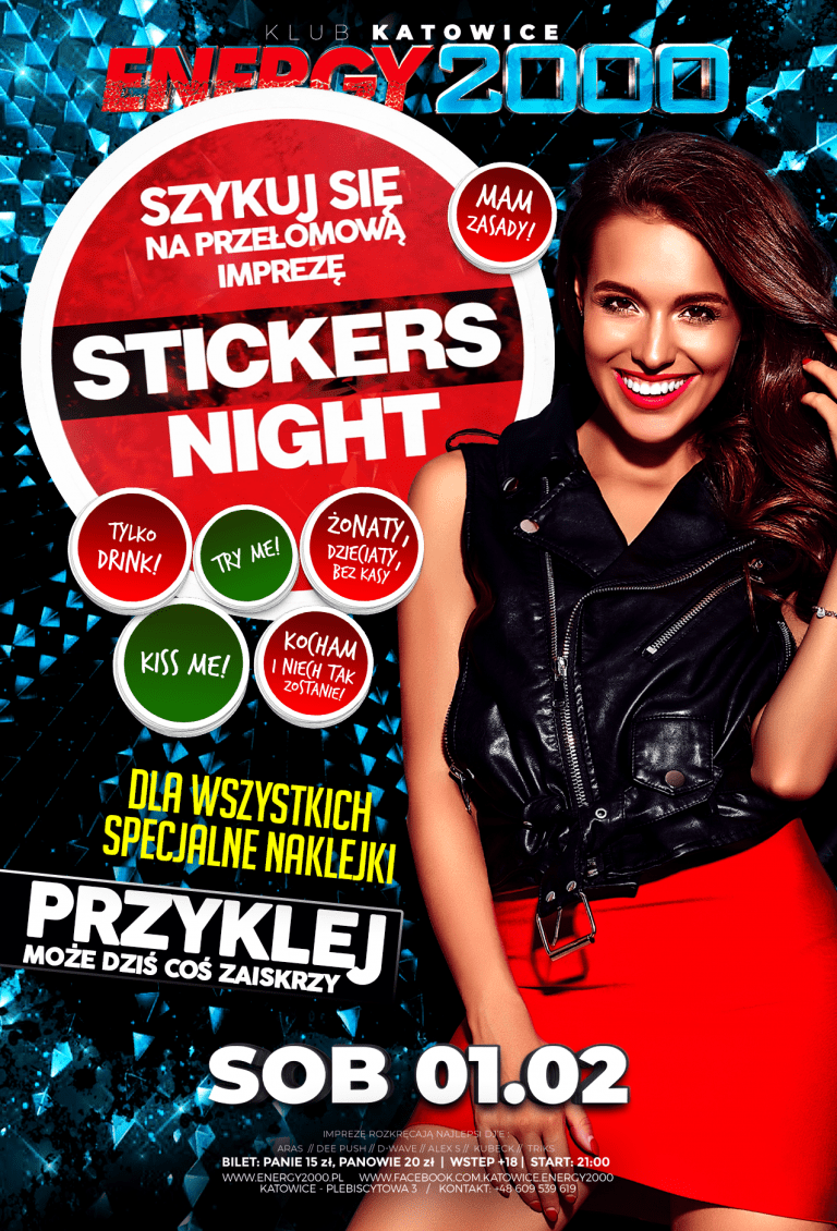 Stickers NIGHT ★ Przyklej to!