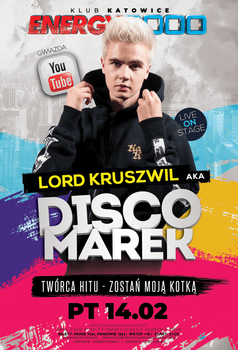 DISCO MAREK AKA LORD Kruszwil ★ Live on Dance stage!