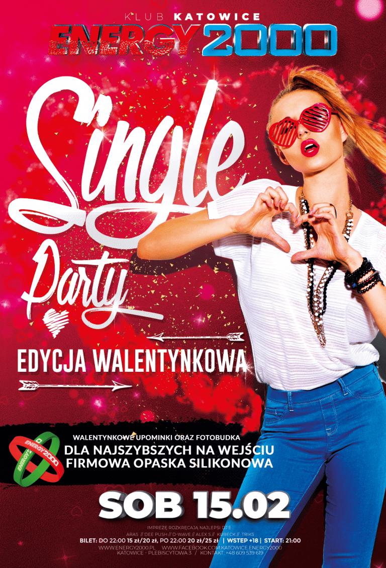 Walentynkowe Single Party ★ Specjalne atrakcje!