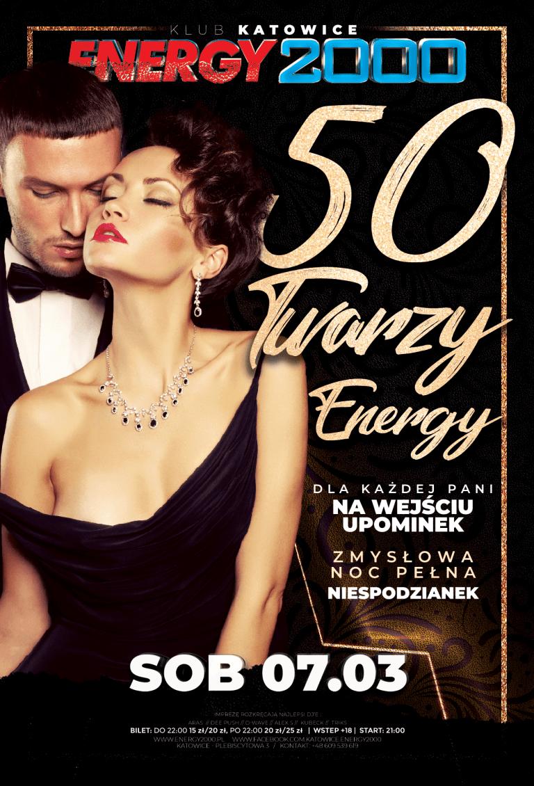 50 TWARZY ENERGY ★ NOC PEŁNA NIESPODZIANEK!