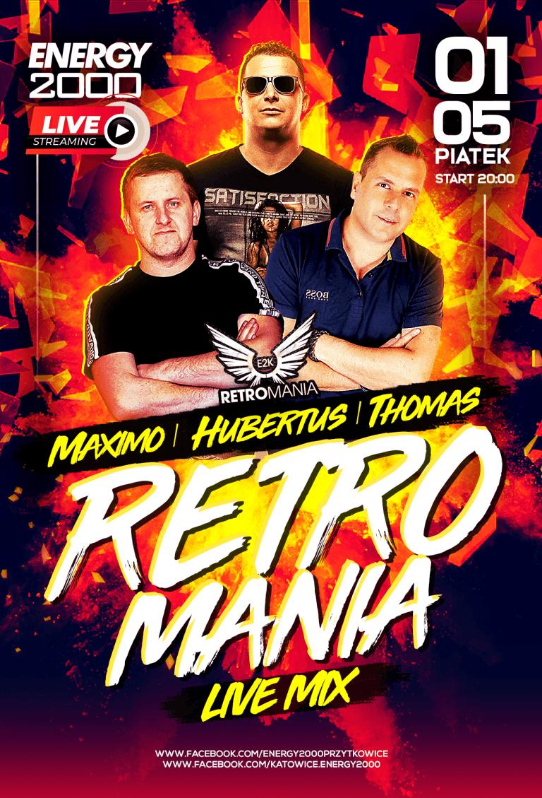 RETROMANIA LIVE STREAM ★ Maximo/ Hubertus/ Thomas