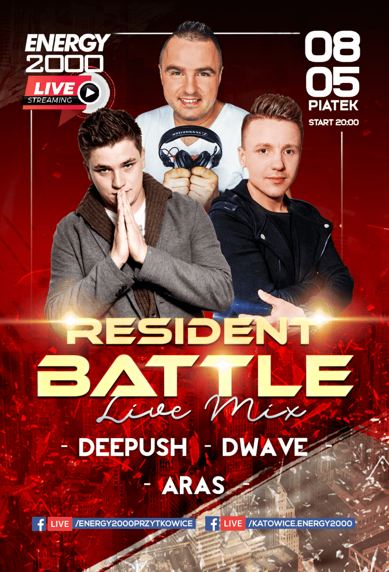 Resident Battle ★ Deepush/ Aras/ D-Wave