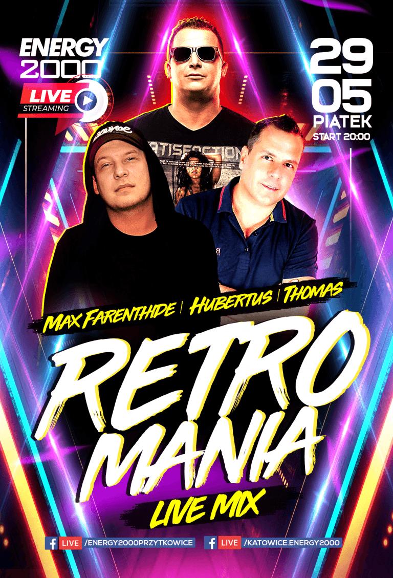 Retromania Live Stream ★ Max Farenthide/ Hubertus/ Thomas