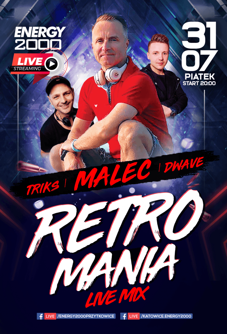 Retromania Live Stream ★ Malec/ D-Wave/ Triks