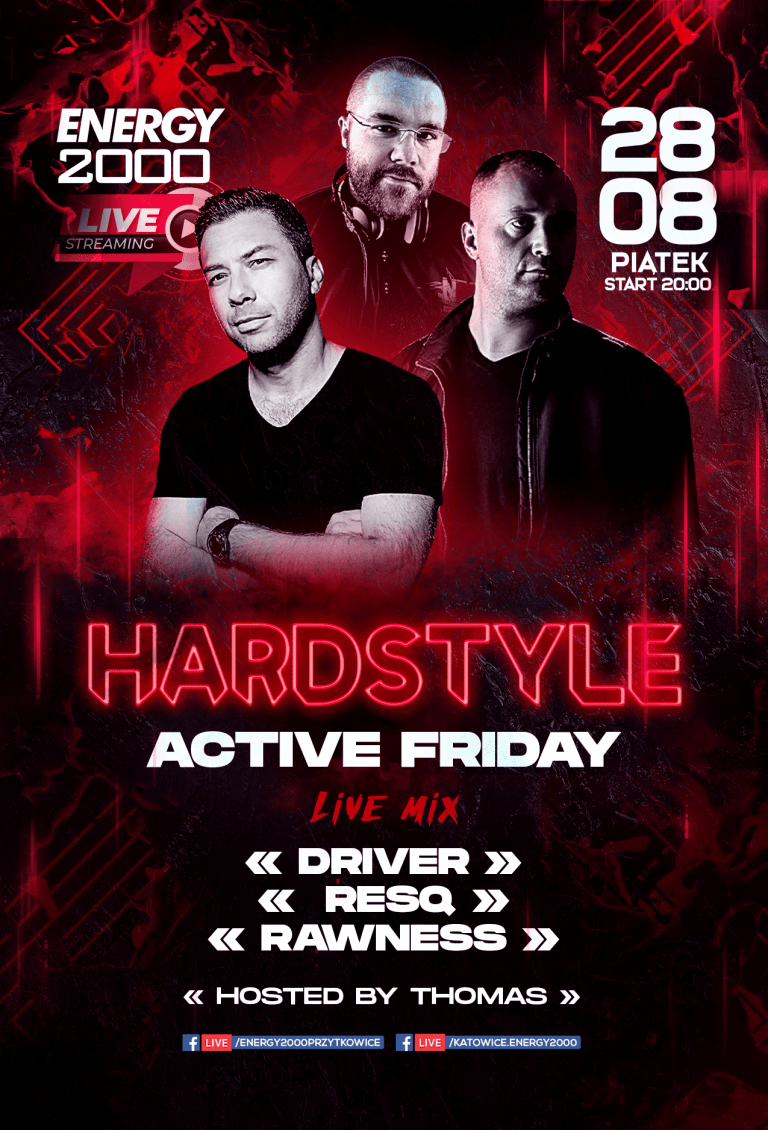 Hardstyle Live Stream ★ Driver/ Resq/ Rawness