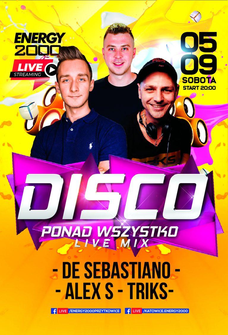 Disco Live Stream ★ Alex S/ DeSebastiano/ Triks
