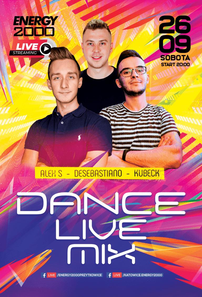 DANCE LIVE STREAM ★ Alex S/ DeSebastiano/ Kubeck