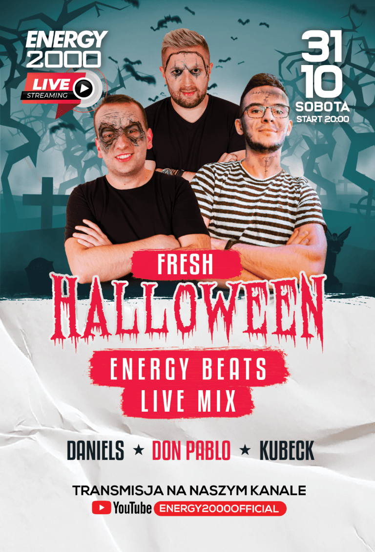 HALLOWEEN ENERGY BEATS ★ DANIELS/ DON PABLO/ KUBECK