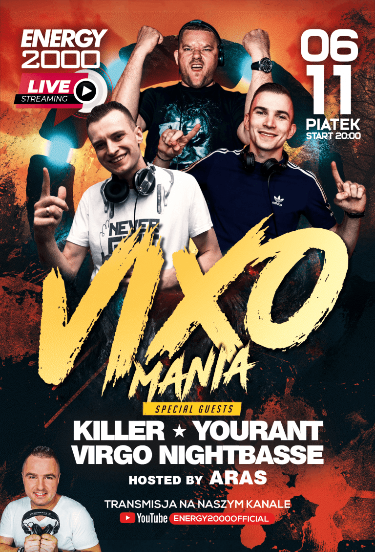 VIXOMANIA LIVE STREAM ★ KILLER/ YOURANT/ VIRGO/ ARAS