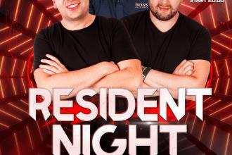 RESIDENT NIGHT ★ DON PABLO/ THOMAS/ DANIELS