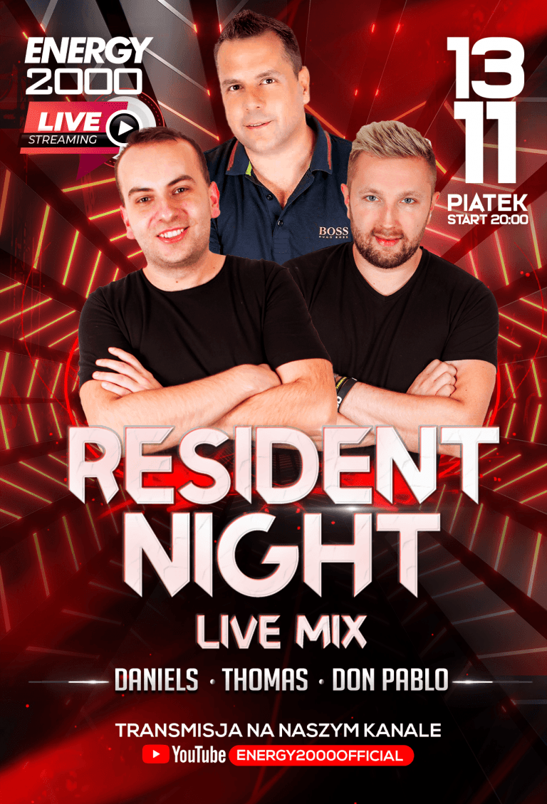 RESIDENT NIGHT ★ DON PABLO/ THOMAS/ DANIELS