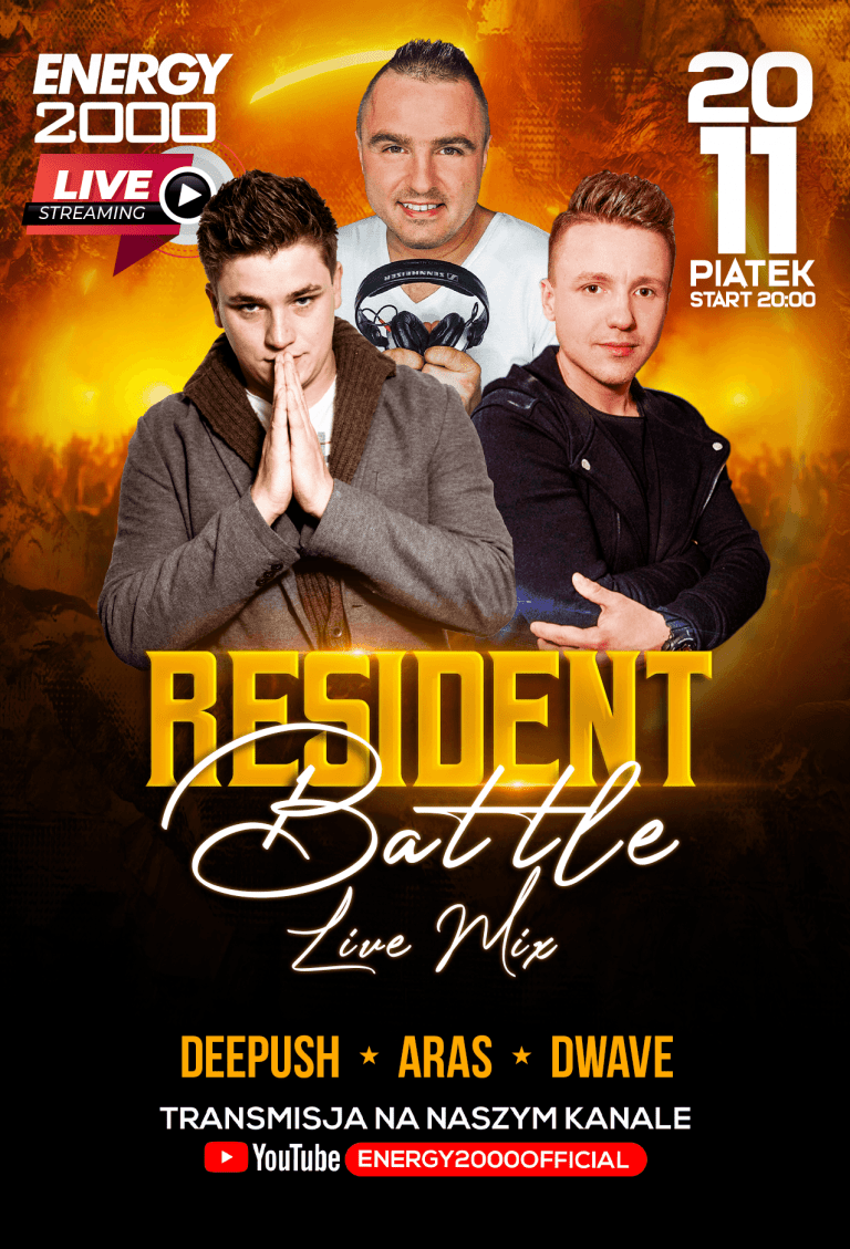 RESIDENT BATTLE ★ DEE PUSH/ ARAS/ DWAVE
