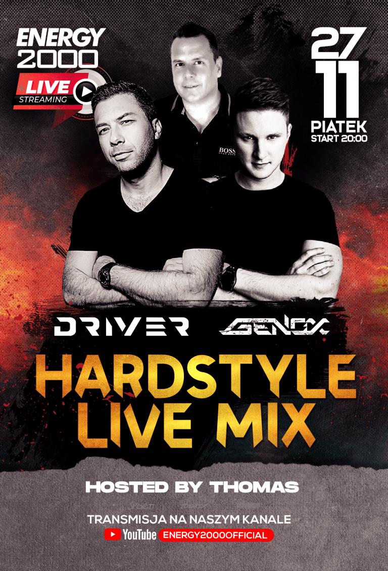 Hardstyle Live Stream ★ Driver/ Genox/ Thomas