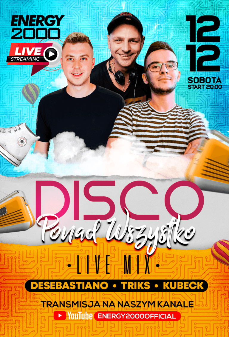 Disco Ponad Wszystko ★ DeSebastiano/ Triks/ Kubeck