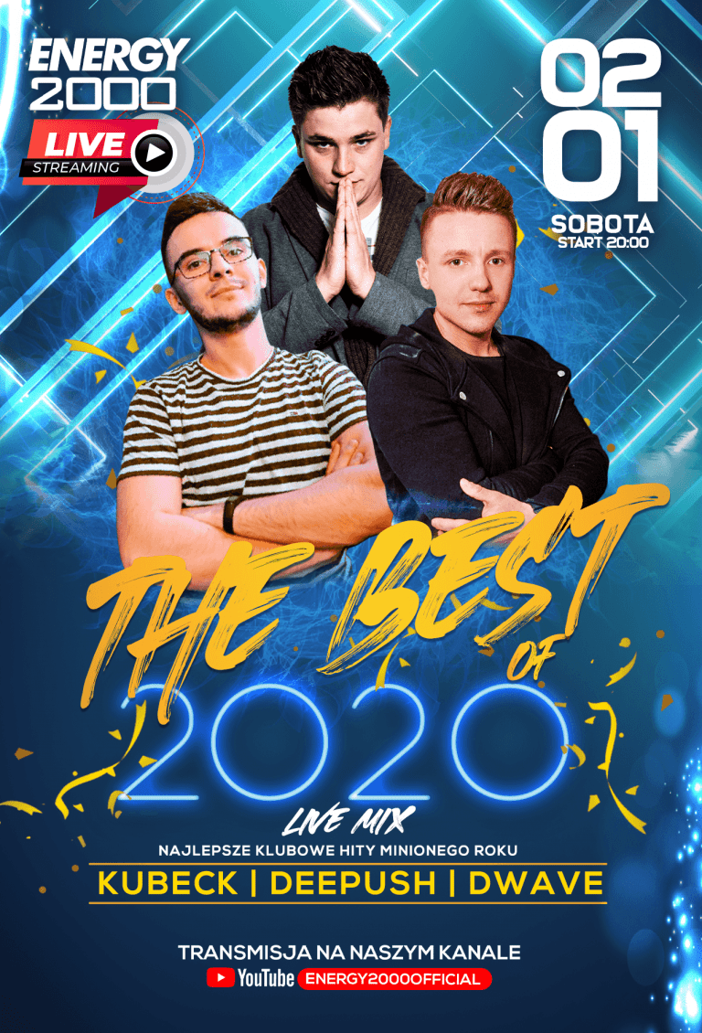 THE BEST OF 2020 LIVE STREAM ★ DEE PUSH/ DWAVE/ KUBECK