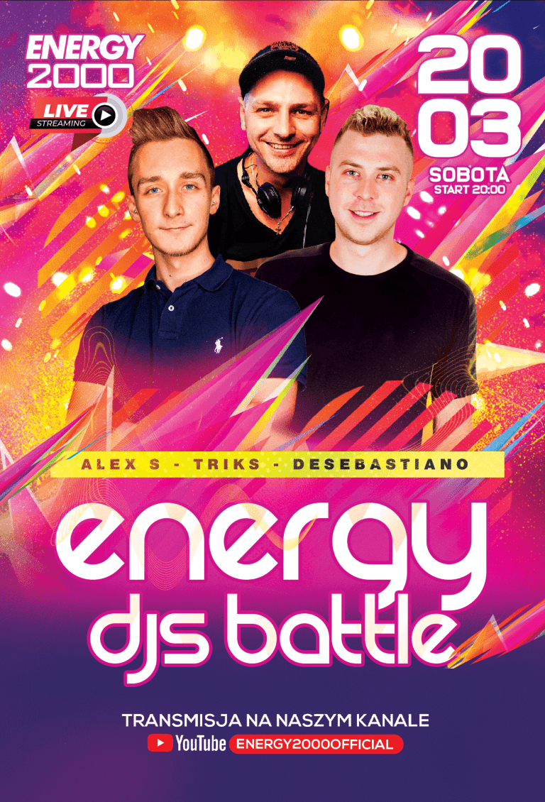 ENERGY DANCE MISSION LIVE ★ ALEX S/ TRIKS/ DESEBASTIANO