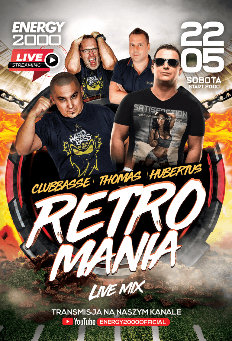 RETROMANIA LIVE ★ CLUBBASSE/ THOMAS/ HUBERTUS