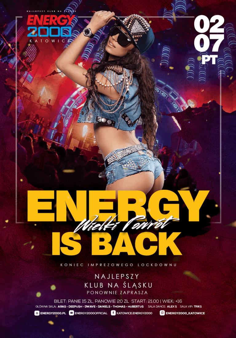ENERGY IS BACK ★ WIELKI POWRÓT PIĄTEK!