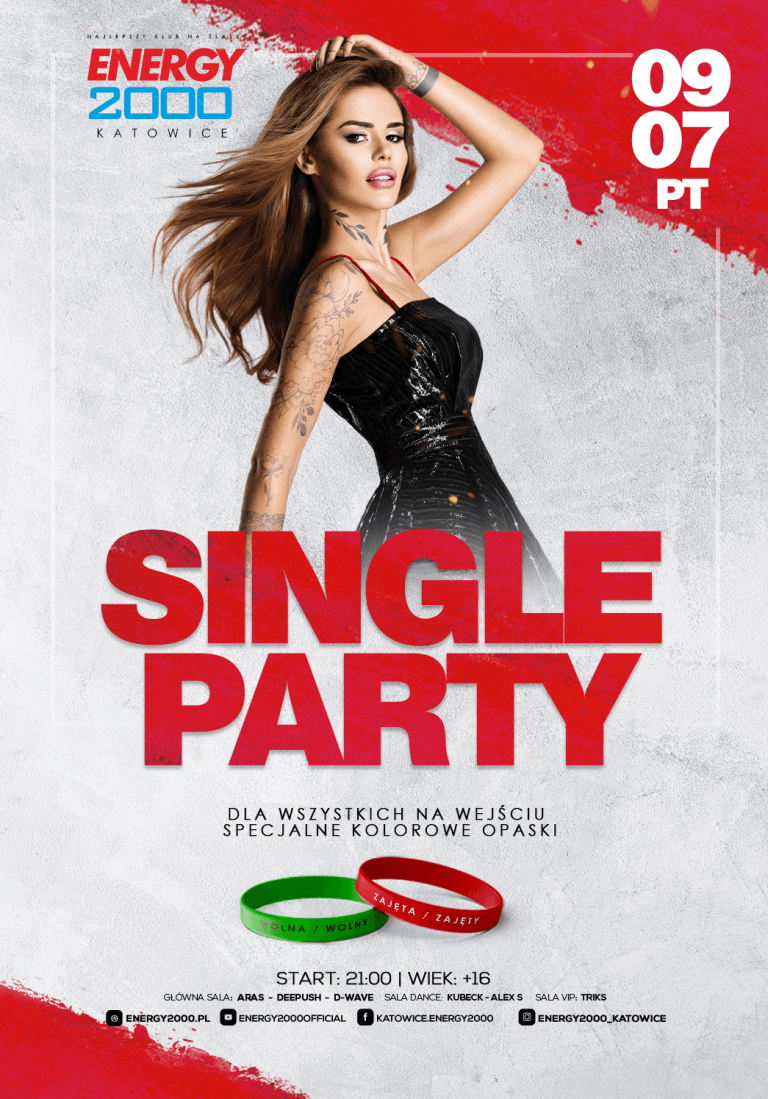 SINGLE PARTY ★ Specjalne opaski!