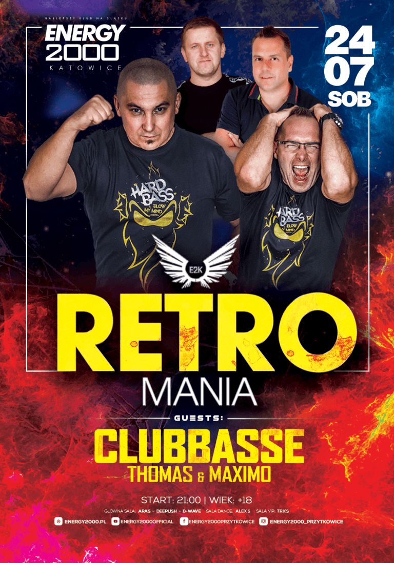 RETROMANIA ★ CLUBBASSE/ THOMAS/ MAXIMO!