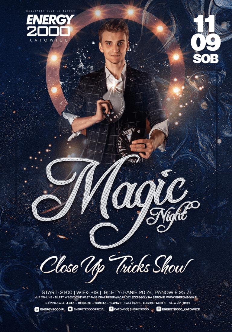 Magic Night ★ Noc magii i sztuczek!