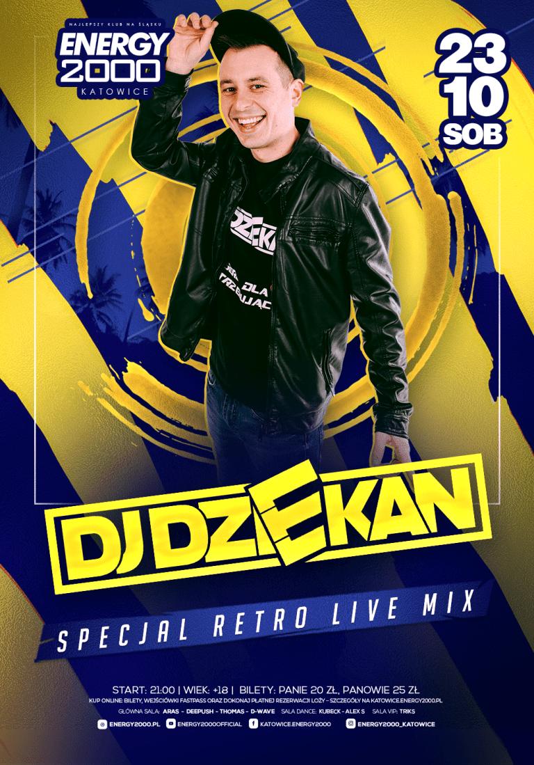 DJ DZIEKAN ★ Retro show!