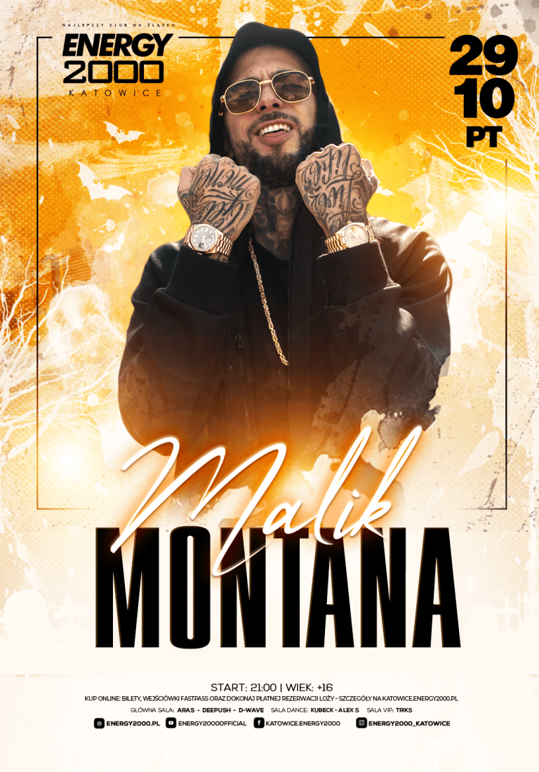MALIK MONTANA ★ Live on stage!